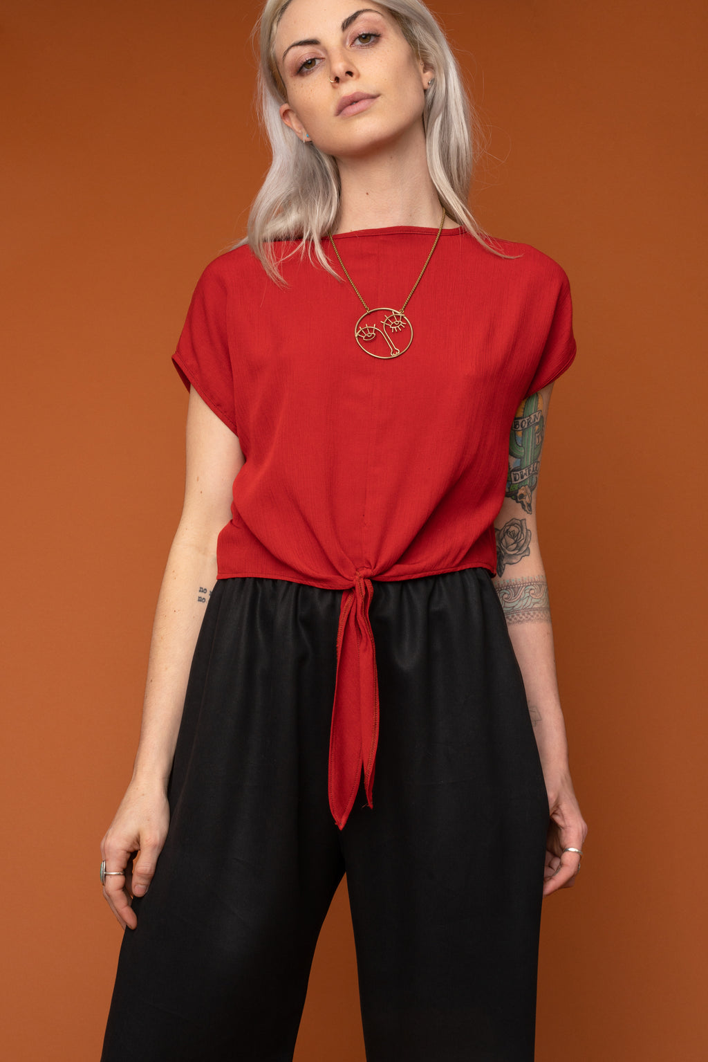 Bisque Crop Top