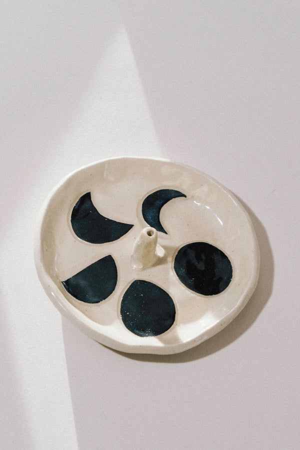 Moon Phase Incense Dish
