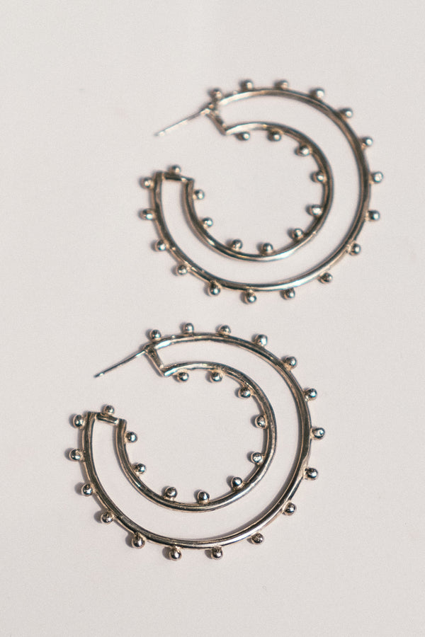 Freyja Hoop Earrings
