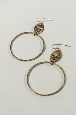 Cenote Earrings with Labradorite