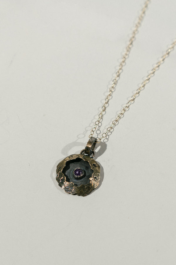 Domed Pollinator Necklace