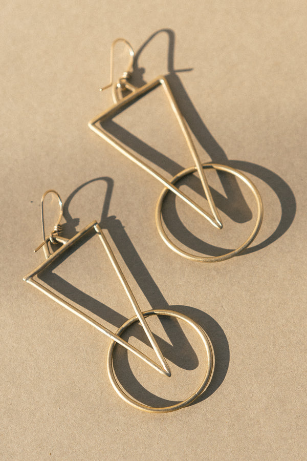 Guise Hanger Earrings
