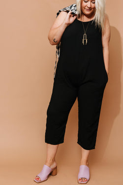 Black Houseline Jumpsuit +
