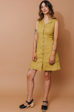 Loretta Dress in Marigold