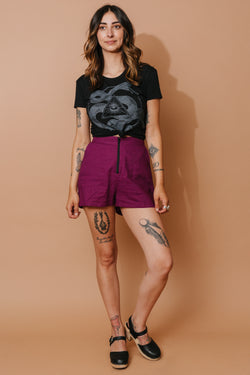 Breezy Shorts in Violet