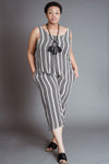 Dotted Stripe Jumpsuit