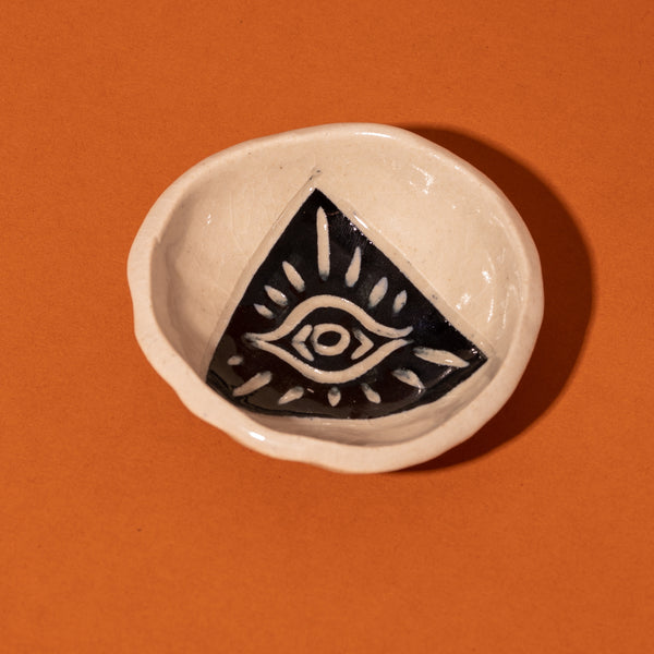 Small All - Seeing Eye Bowl