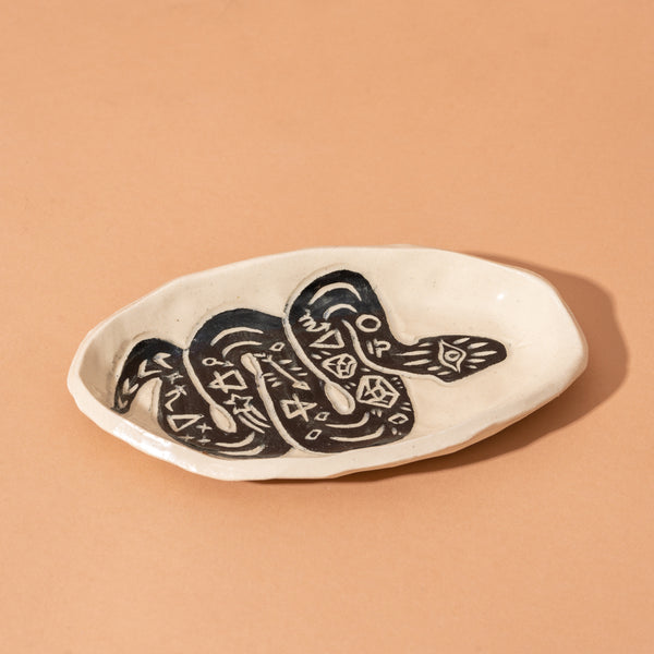 Small Snake Smudge Tray
