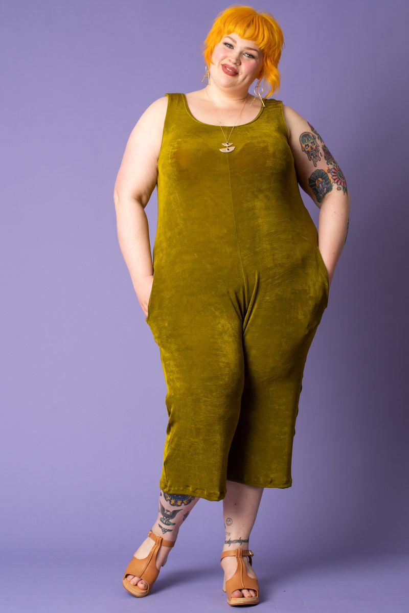 Golden Moss Jumpsuit