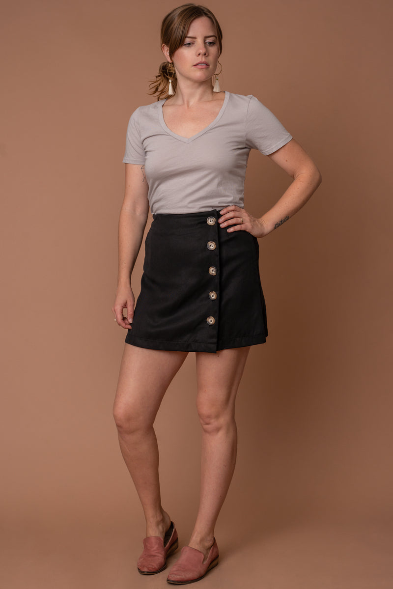 Black Paloma Skirt