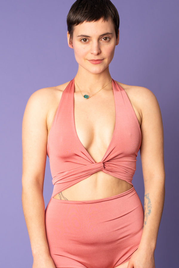 Dusty Rose Swimsuit