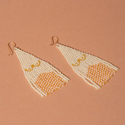 Beaded Boob Earrings