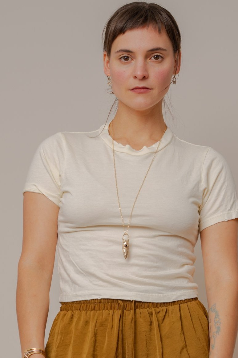 Natural Hemp Crop Top