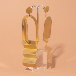 Relativity Stairway Earrings