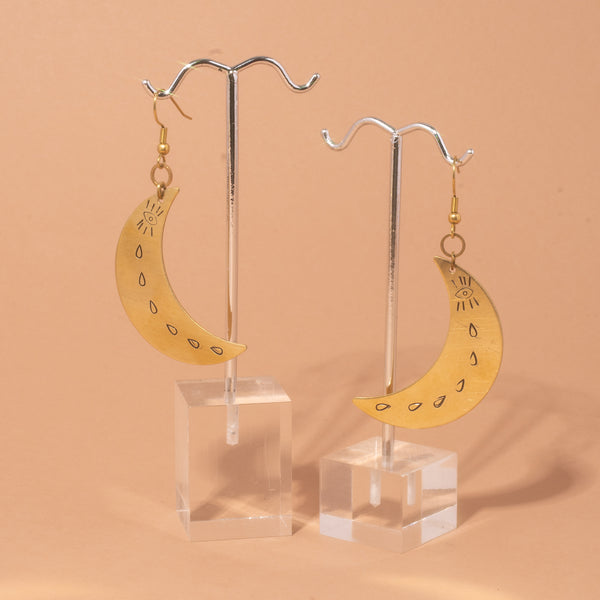 Nu Moon Earrings