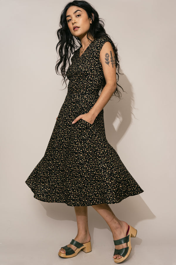 Xena Dress in Rose Bud