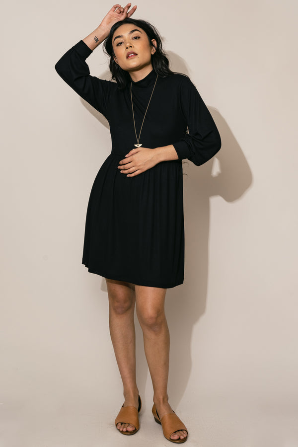 Black Bishop Party Dress