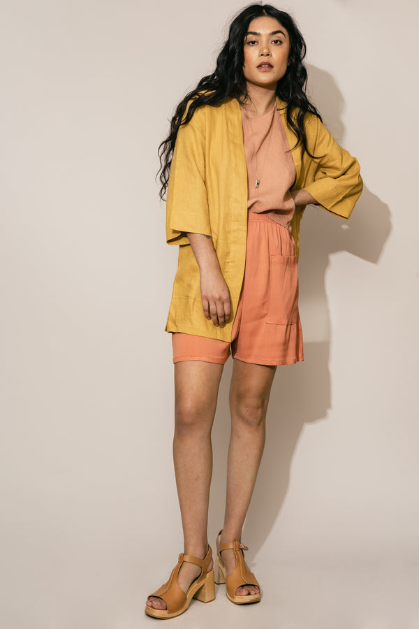 Apricot Pocket Shorts