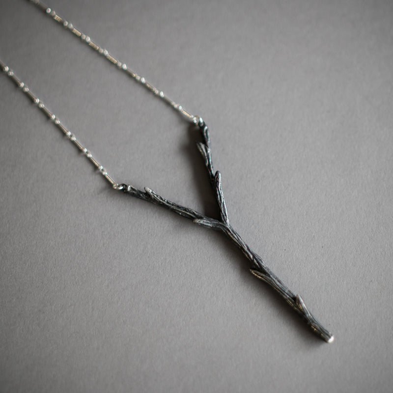 Stang Sterling SIlver Necklace