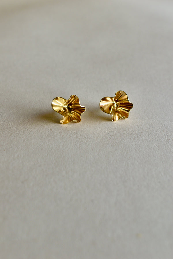 Fil Earrings in Brass