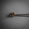 Double Sided Skull Necklace - Copper, Jewelry, Alex Reisfar, Altar PDX - Altar PDX