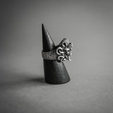 Double Sided Skull Ring - Silver