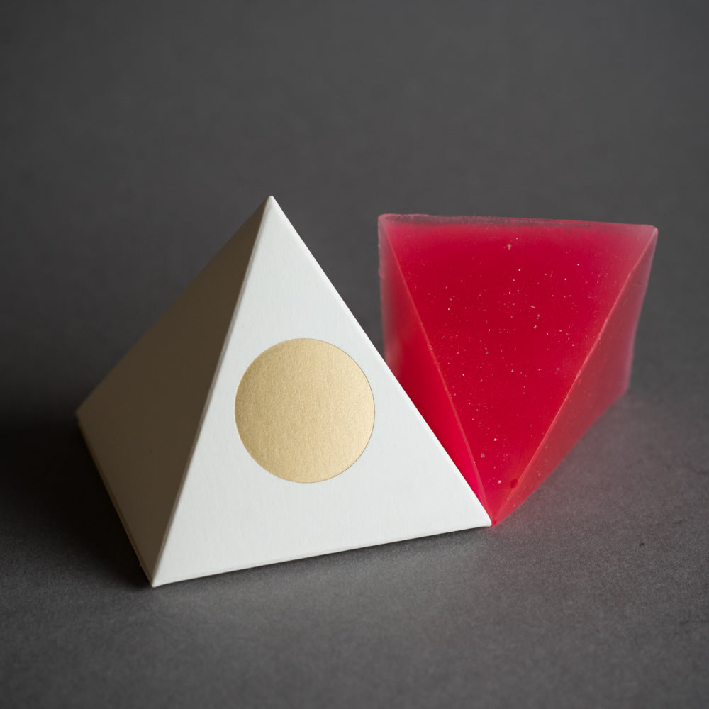 Pink Pyramid Golda Soap