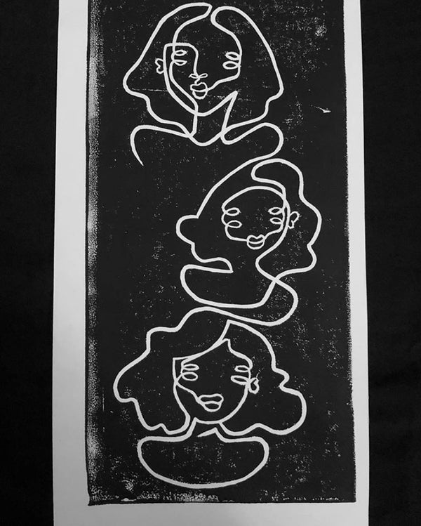 Three Peas in a Void Print