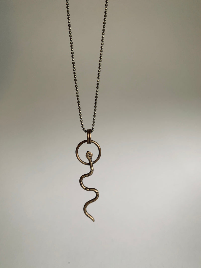 Viper Pendant Necklace