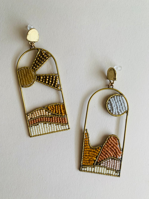 Landscape Earrings