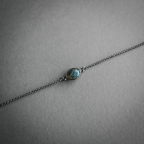Mini Labradorite Necklace