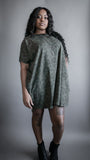 Circle Knit Dress - Green Mojave
