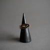 Gemini Ring - Brass and Quartz