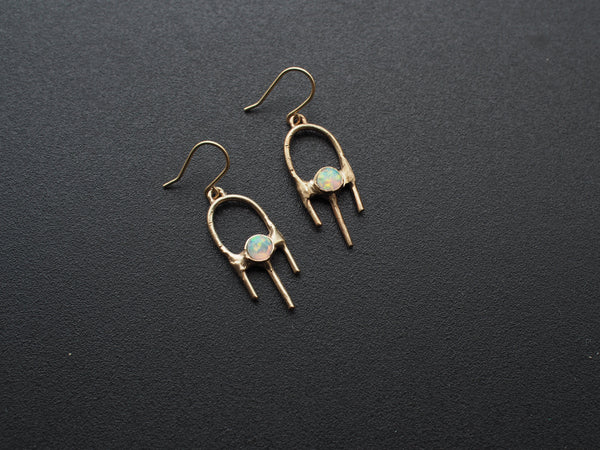 Gem Set Pick Earrings