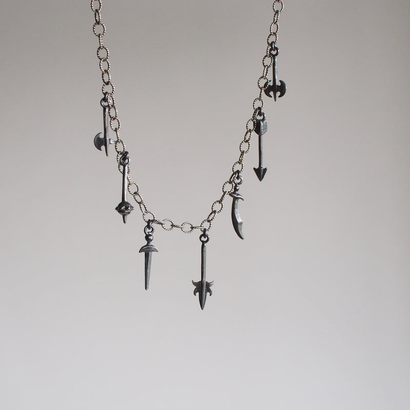 Armory Charm Necklce