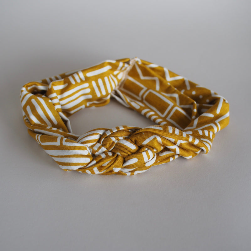"""AH Zero Waste Project"" Triple Knot Headband"