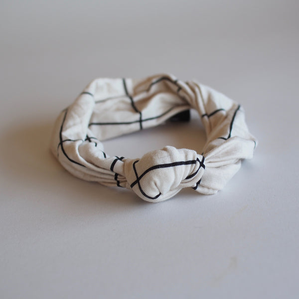 """AH Zero Waste Project"" Single Knot Headband"