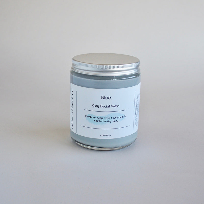Blue Clay Face Wash