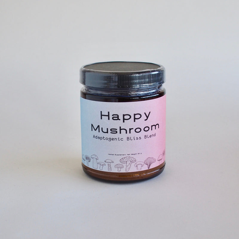 Happy Mushroom- Adaptogenic Bliss Blend