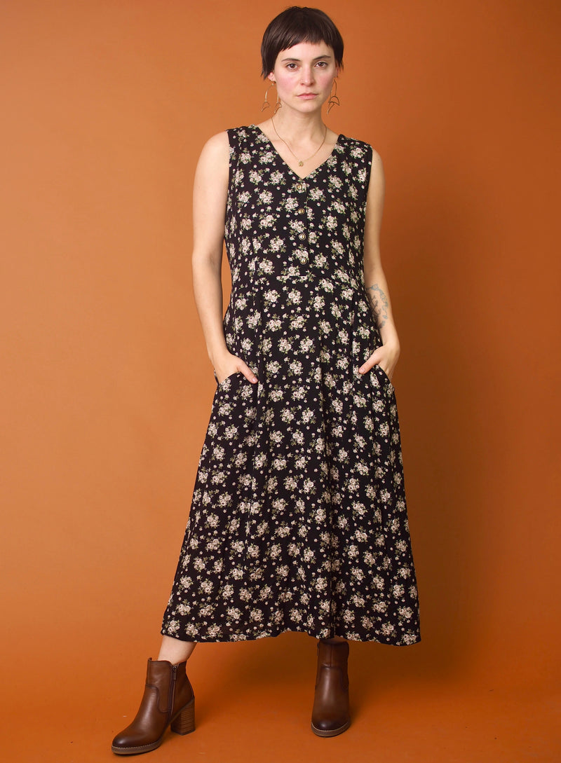 Rose Crepe Ever Dress