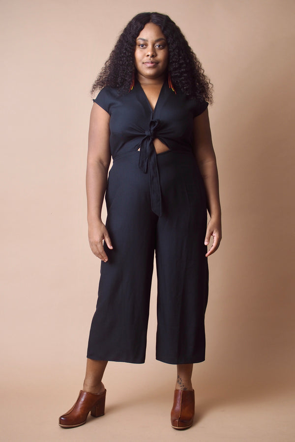 Black Tied Jumpsuit