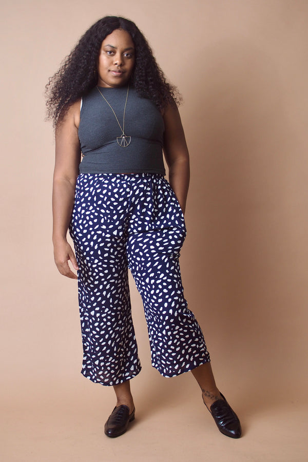 Blue Dot Trouser