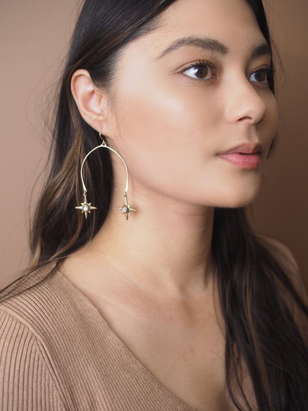 Mobile Polaris Earrings