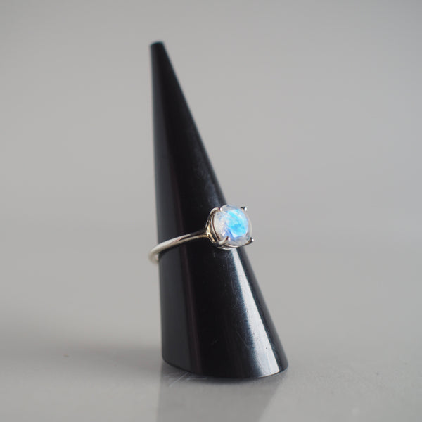 8MM Moonstone Ring