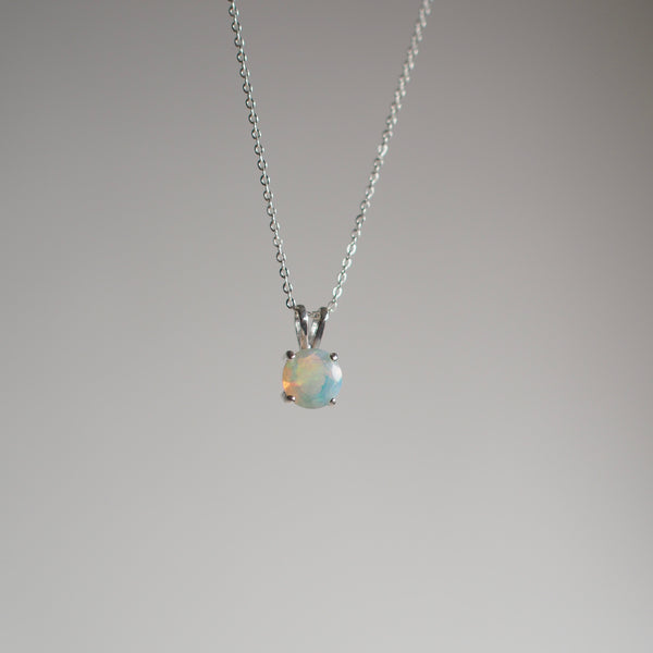 7MM Opal Necklace