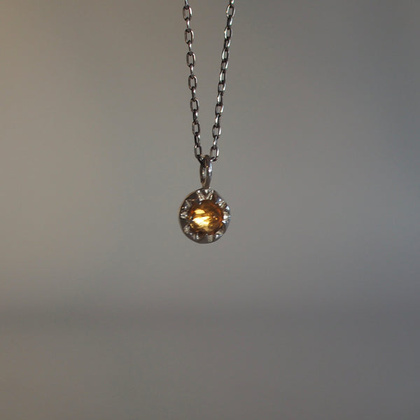 Citrine Pulsar Necklace