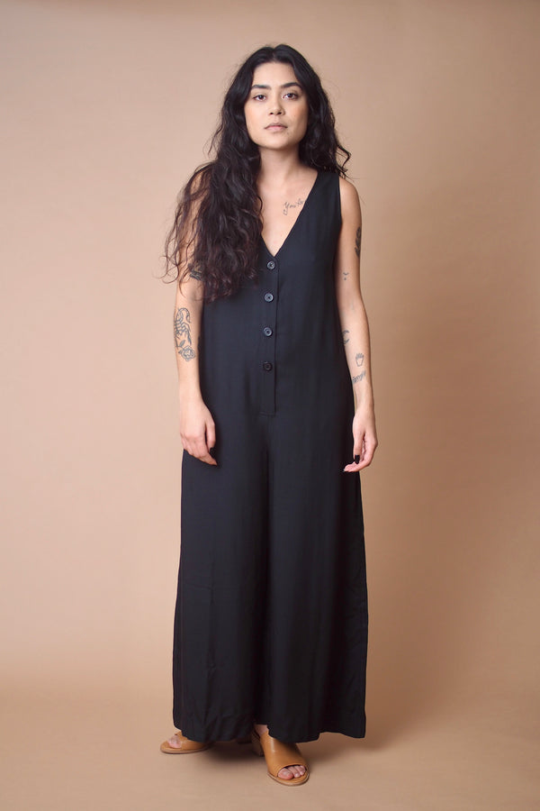Reeve Jumpsuit in Black