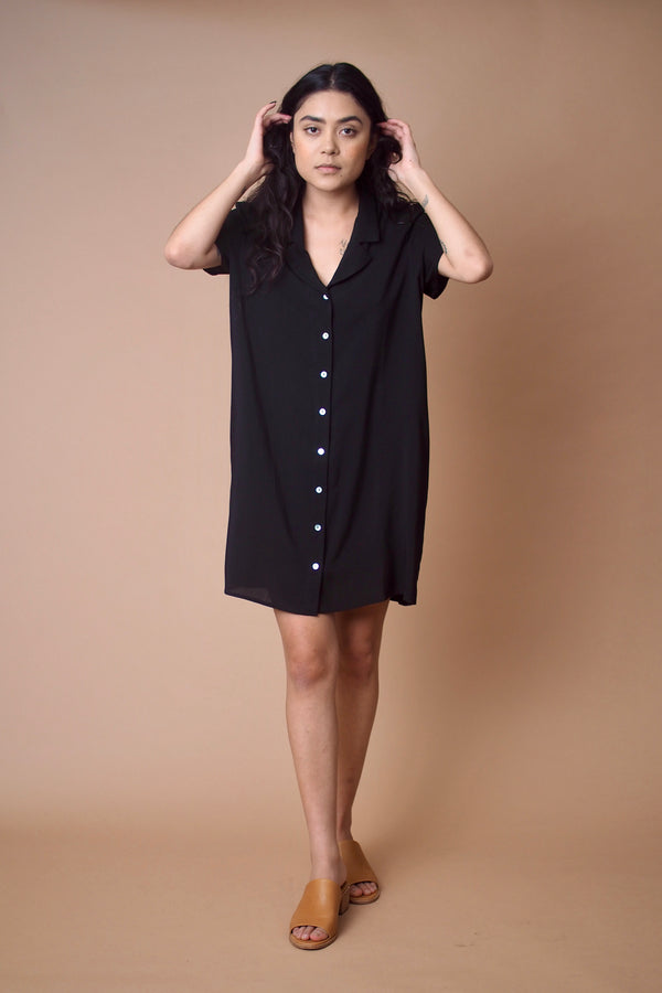 Gerty Dress in Black
