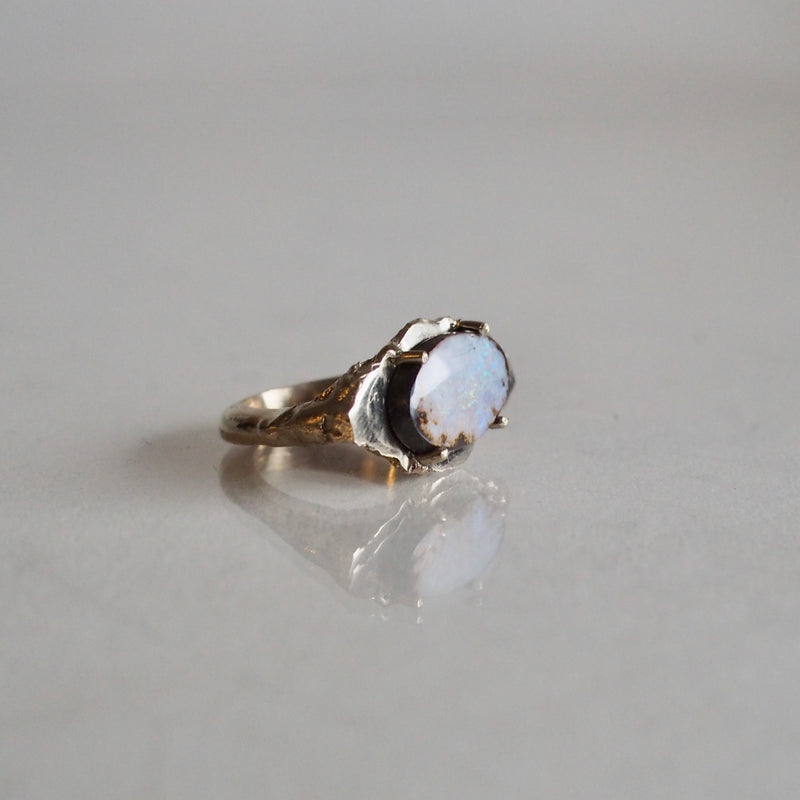 One of a Kind Platform Opal Ring