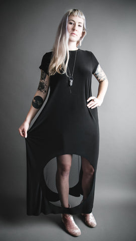 Porthole Maxi Dress
